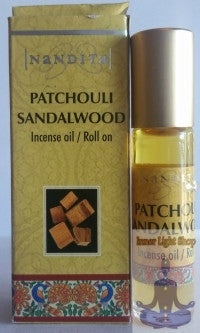 Patchouli Sandalwood Fragrance Incense Oil - Inner Light Shop