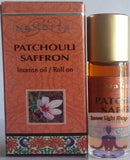 Patchouli Saffron Fragrance Incense Oil - Inner Light Shop