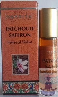 Patchouli Saffron Fragrance Incense Oil