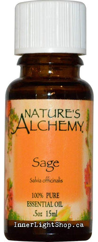 Sage Essential Oil Nature's Alchemy Inner Light Shop