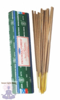 Satya Patchouli Forest Incense Sticks - Inner Light Shop
