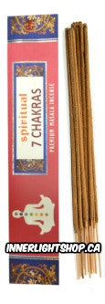 Spiritual 7 Chakras Incense Sticks - Inner Light Shop