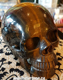 Tiger Eye Crystal Skull - Inner Light Shop