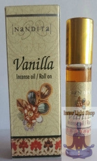 Vanilla Fragrance Incense Oil - Inner Light Shop