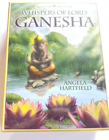 Whispers of Lord Ganesha Oracle Cards - Inner Light Shop