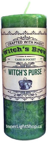 Witch's Purse, Witch's Brew Candle - Inner Light Shop