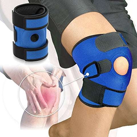 Azure Sport Knee Brace Support - Blue