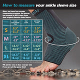 Azure Sport Elastic Ankle Support Sleeve