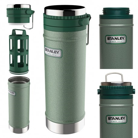 Stanley Classic Vacuum Travel Press 0,47L Green