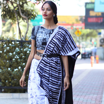 Four Ways To Style Your Saree