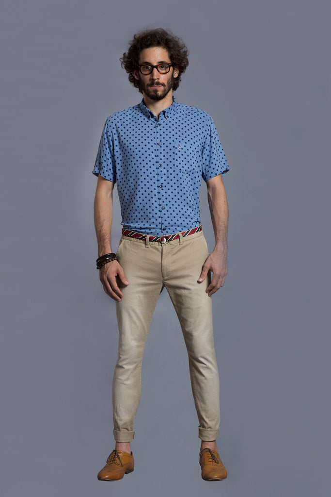 Harvard Shirt Polka dot - Fashion Market.LK