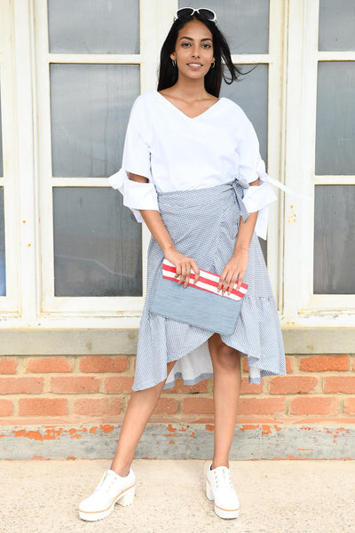 Retro Wrap Skirt v1