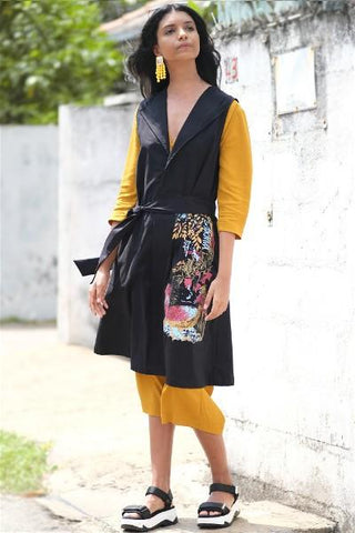 Ceylon Thambili Stamp Duster Coat