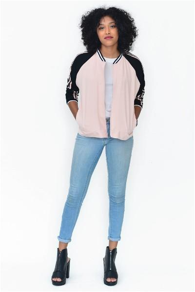This Girl Is On Fire Statement  Bomber Jacket