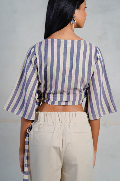 Pastel Stripes Crop Top