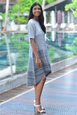 Navy & Loom Detailed  Shirt Dress