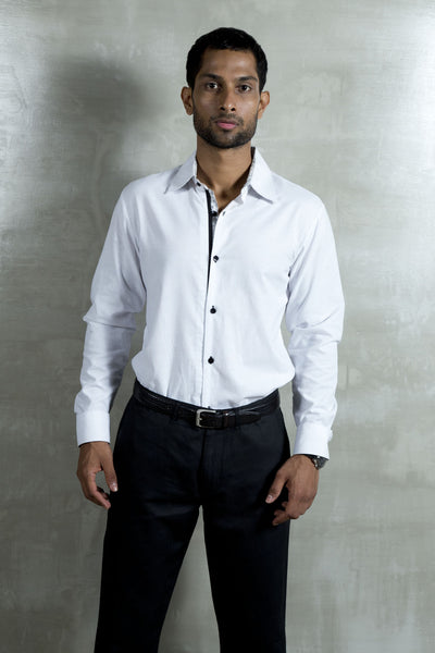 Shirt With Black Trims