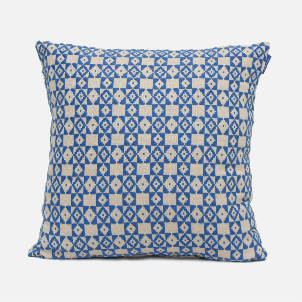 Rumassala Blue Cushion Cover