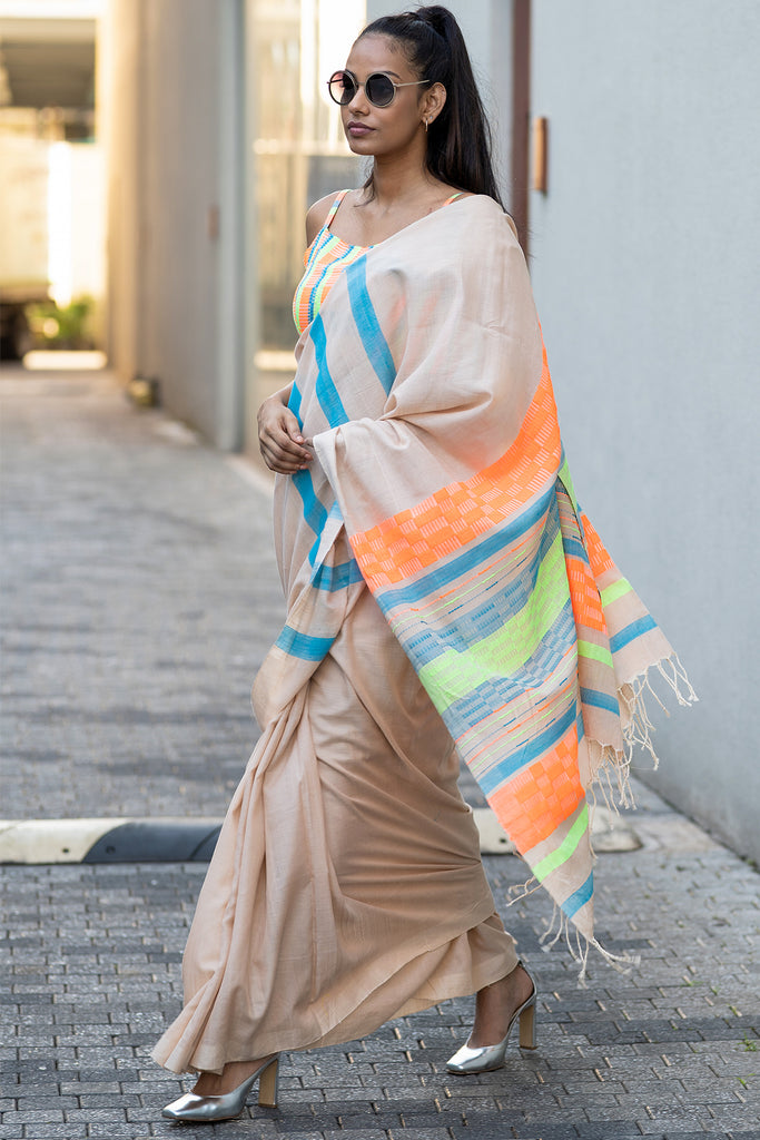 Urban Drape Color Twist Saree