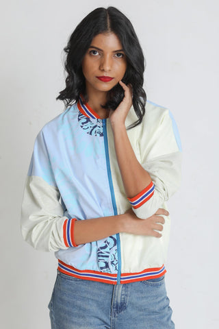 Typo Flash Bomber Jacket