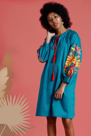 Nizhoni Embroidered long jacket