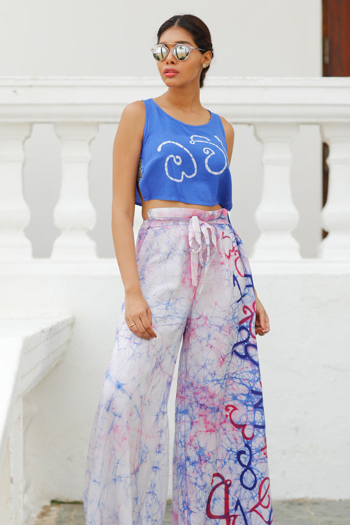 Pras & Danties Batik Crop Top