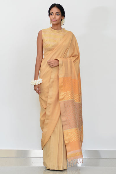 Urban Drape Ivory Star Saree