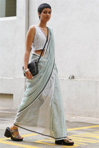 Urban Drape Ultra Cool Active Saree