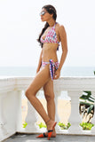 Pras & Danties Batik Reversible Bikini Tie Up Set