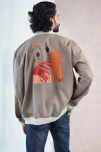 Load image into Gallery viewer, Ceylon Typo Bomber Jacket