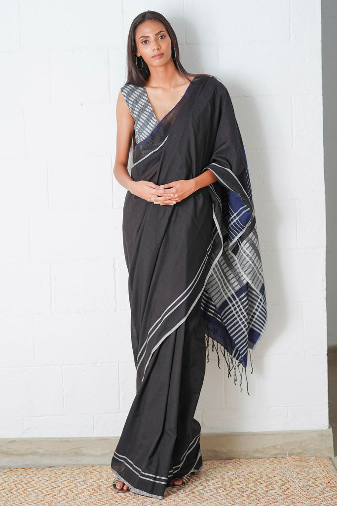 Urban Drape Jade Wave Saree