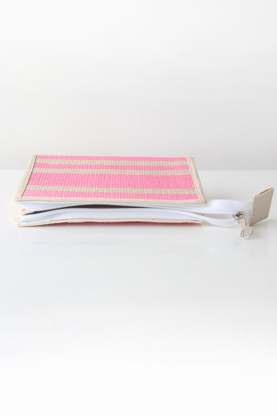 Pastel pink Hemp Pencil Case