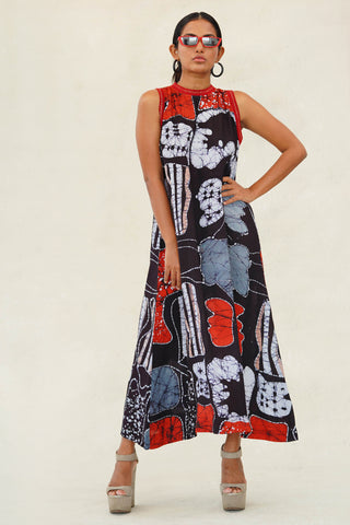 Lucid dreams  printed dress