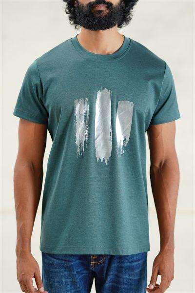 Foil Brush Strokes T-Shirt