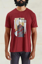 Load image into Gallery viewer, Abstract Landscapes Relaxed T-Shirt