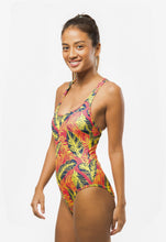 Load image into Gallery viewer, YELLOW LEAVES PRINT ONE PIECE - Fashion Market.LK