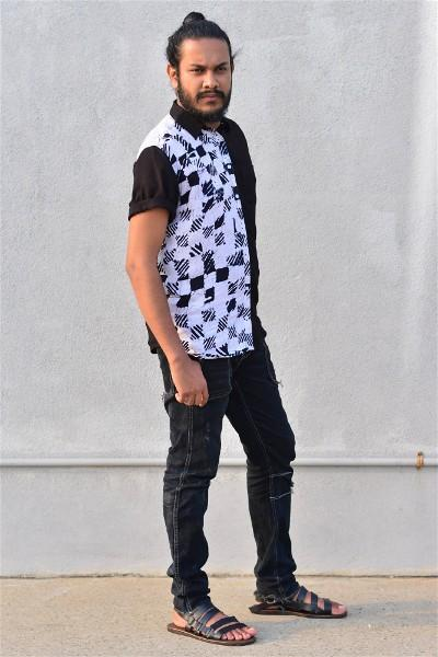Chess Batik Short Sleeve Shirt
