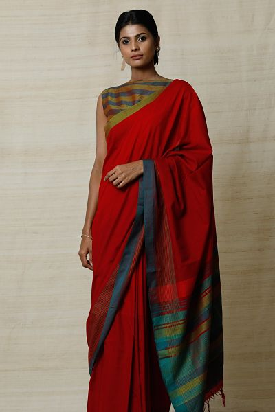 Urban Drape Color Tropic  Saree