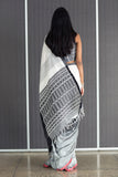Urban Drape Monochrome Kotu Saree