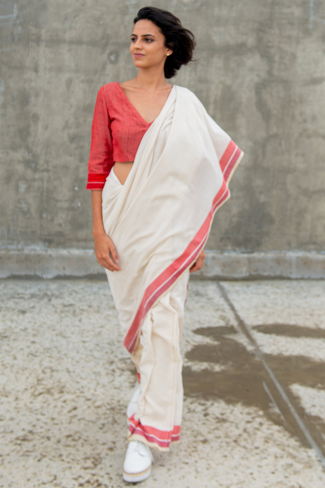 Urban Drape Happy Prep Saree