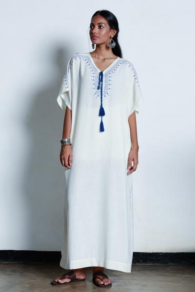 Embroidered Kaftan
