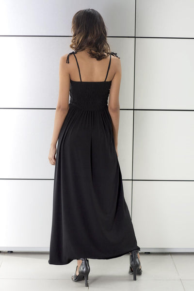SHAY Black Maxi Dress