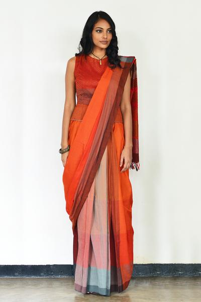 Urban Drape Fire Dreaming Saree