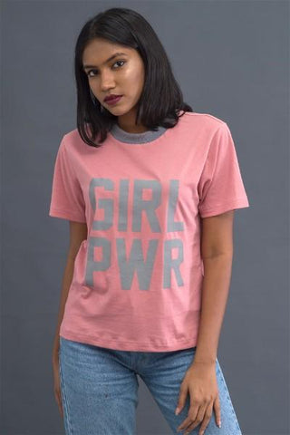 Girl Power Pink T-shirt