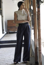 Load image into Gallery viewer, Mara High-waist Black Pants