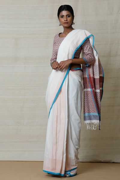 Urban Drape Pearl Shell Saree