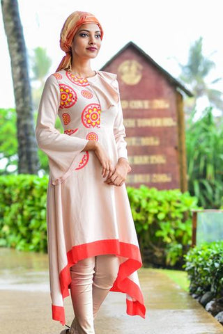 Handloom Kaftan Dress