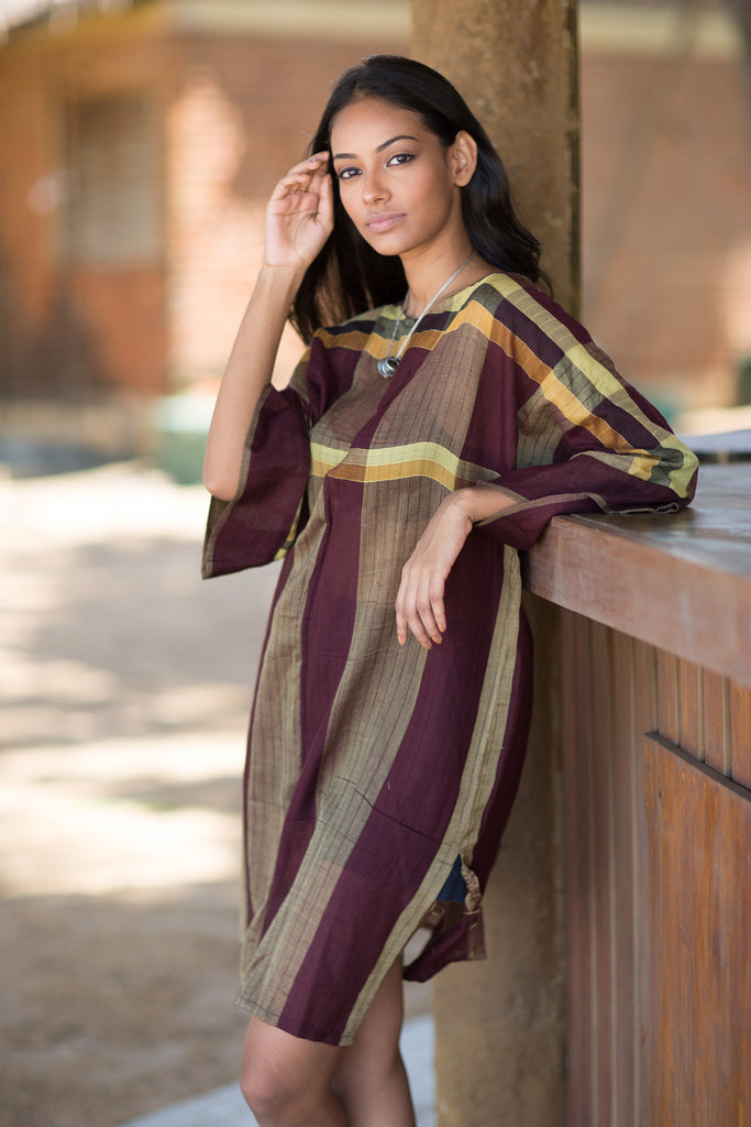 Hand Woven Tunic Dress