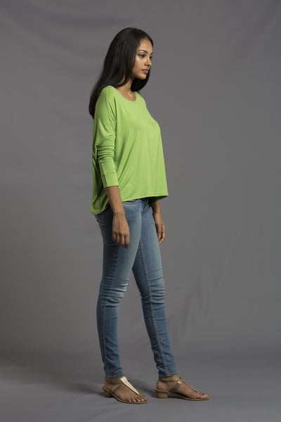 Red Cocoon Green Jersey T-shirt