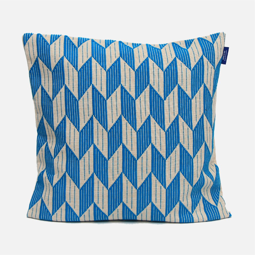 Kayts Turquoise Cushion Cover